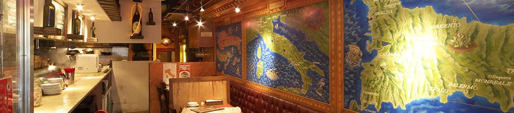 ランチにお勧め!笹塚のイタリアン、キャンティ本店のインテリア