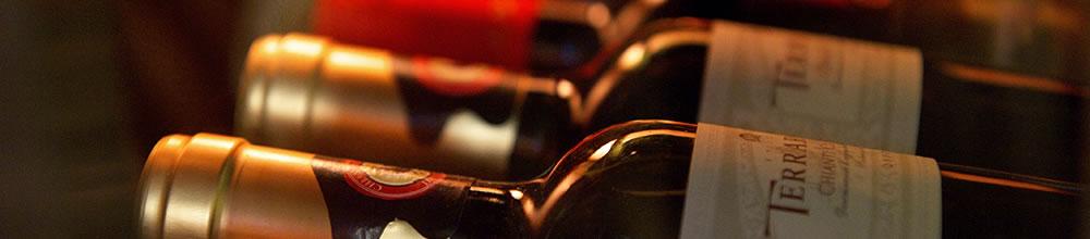 サラダバーがある笹塚のイタリアン、クアトロのワイン一覧