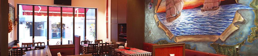 ランチブッフェあり!池袋東口のイタリアン、イルキャンティのインテリア
